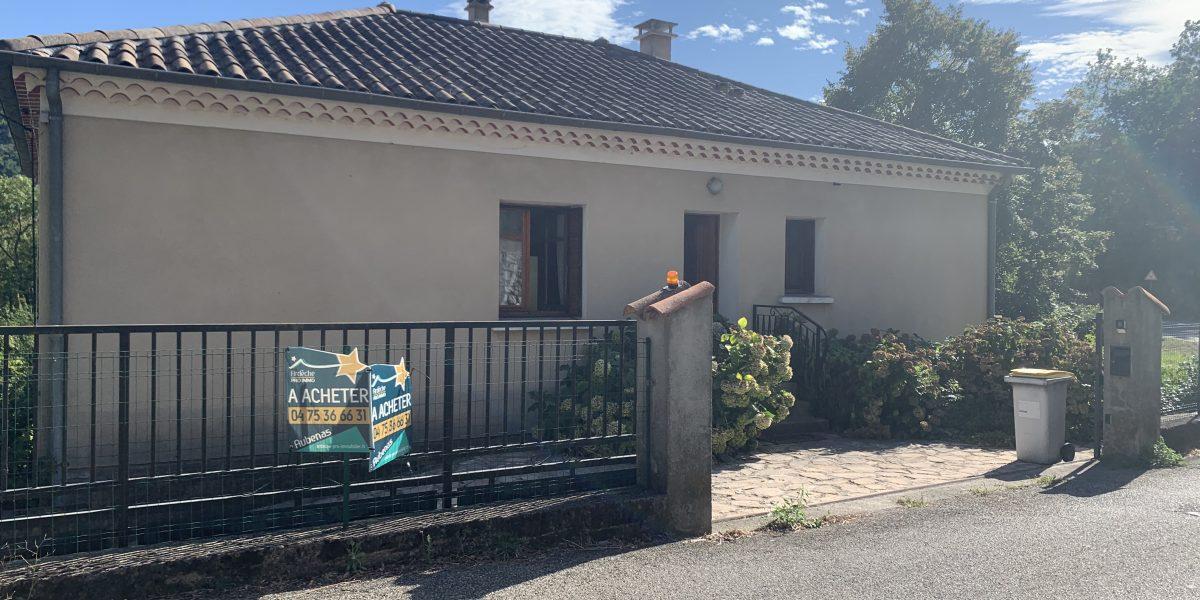 sous offre maison située à VALS LES BAINS